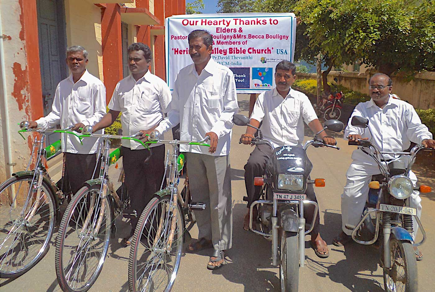 Bikes and bicycles, pastors
