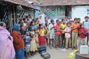 Village-gathering
