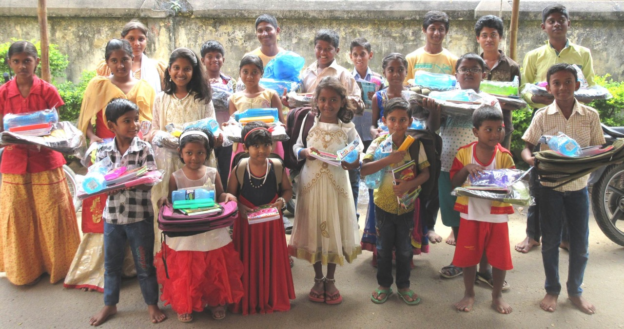 Children with educational gifts