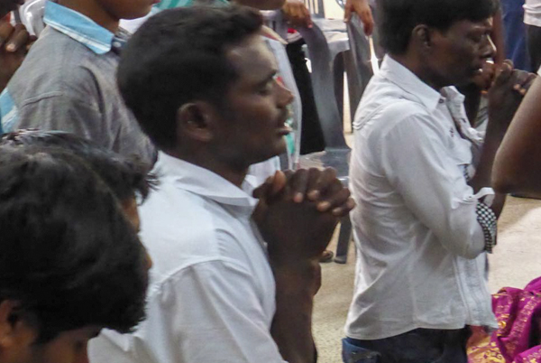 New believers in prayer