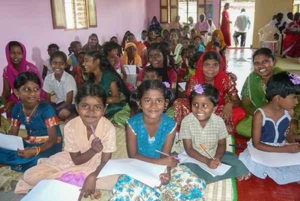 Youth in rural church congregation