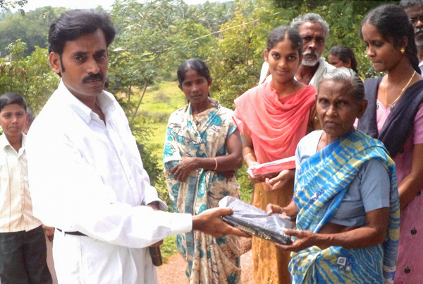 Bible Distribution – India Village Care Ministries