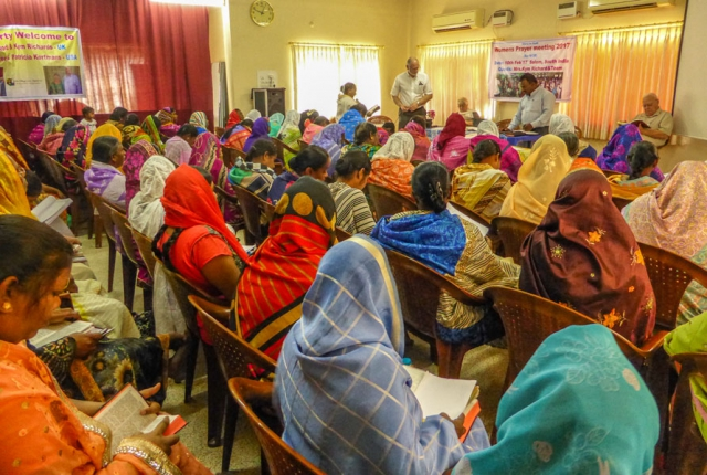 Womens prayer meeting and conference