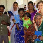 Bibles, new believers, church