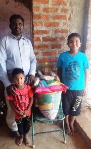 Food help to poor pastor family